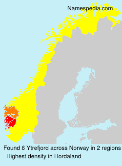 Surname Ytrefjord in Norway