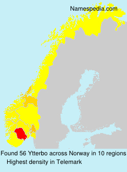 Surname Ytterbo in Norway