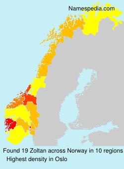 Surname Zoltan in Norway