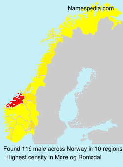 Surname male in Norway