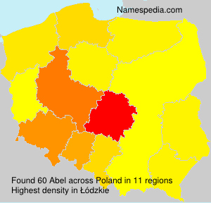 Surname Abel in Poland