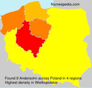 Surname Andersohn in Poland