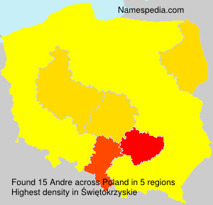 Surname Andre in Poland