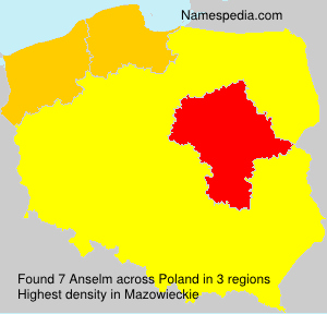 Surname Anselm in Poland