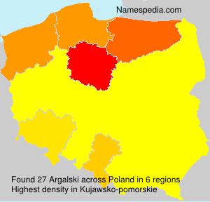 Surname Argalski in Poland