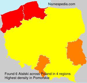 Surname Atalski in Poland