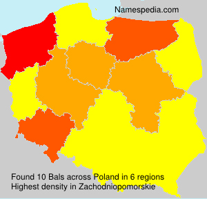 Surname Bals in Poland