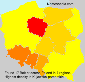Surname Balzer in Poland
