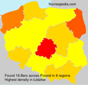 Surname Berc in Poland