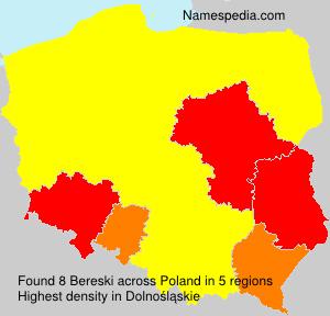 Surname Bereski in Poland