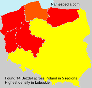 Surname Bezdel in Poland