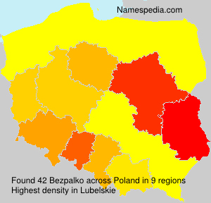 Surname Bezpalko in Poland