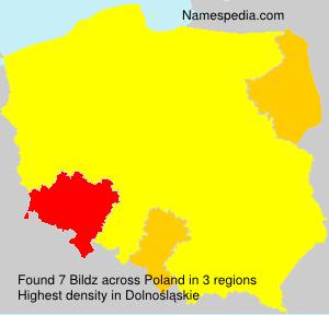 Familiennamen Bildz - Poland