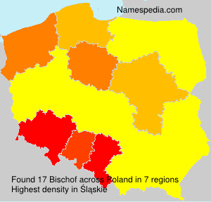 Surname Bischof in Poland