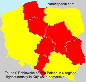 Familiennamen Boblewska - Poland