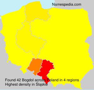 Familiennamen Bogdol - Poland