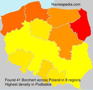 Familiennamen Borchert - Poland