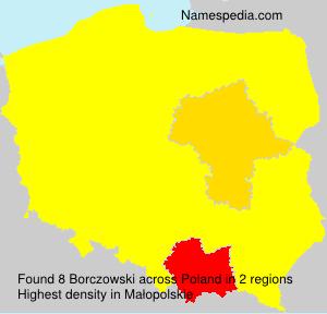 Familiennamen Borczowski - Poland