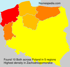 Surname Both in Poland
