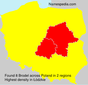 Surname Brodel in Poland