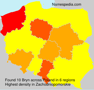 Surname Bryn in Poland