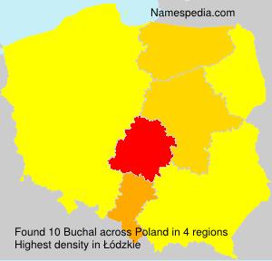 Surname Buchal in Poland