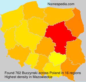 Familiennamen Buczynski - Poland
