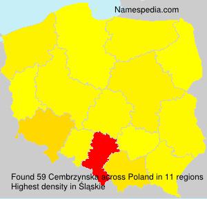 Familiennamen Cembrzynska - Poland