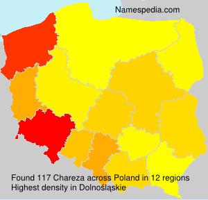 Surname Chareza in Poland