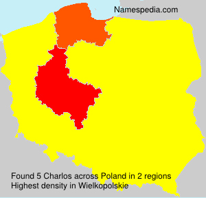 Surname Charlos in Poland