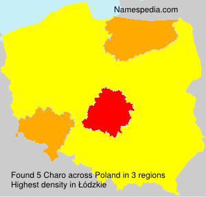Surname Charo in Poland