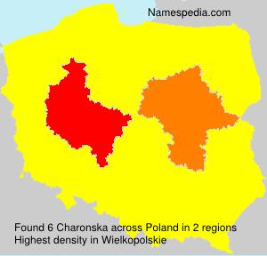 Familiennamen Charonska - Poland