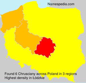 Chrusciany - Poland