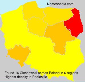 Ciesnowski