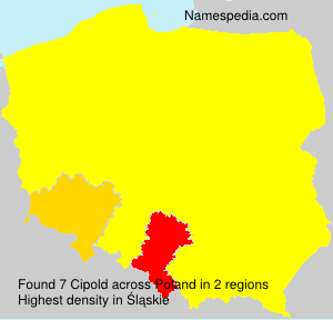 Surname Cipold in Poland