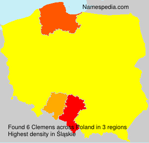 Surname Clemens in Poland