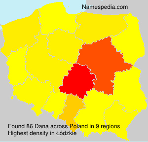 Surname Dana in Poland