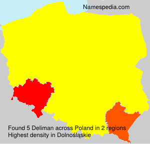 Surname Deliman in Poland