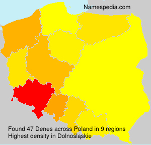 Surname Denes in Poland