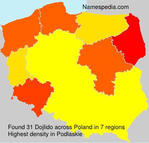 Surname Dojlido in Poland