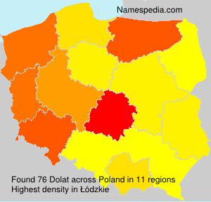 Surname Dolat in Poland