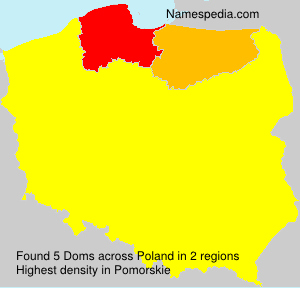 Surname Doms in Poland
