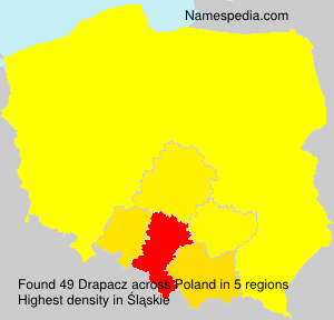 Surname Drapacz in Poland