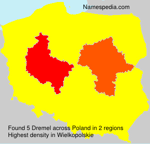 Surname Dremel in Poland