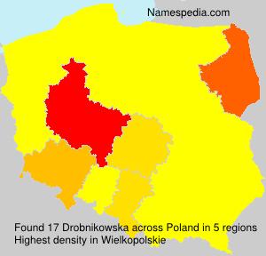Surname Drobnikowska in Poland