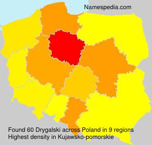 Familiennamen Drygalski - Poland