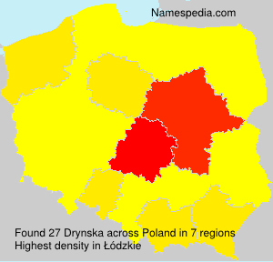 Surname Drynska in Poland