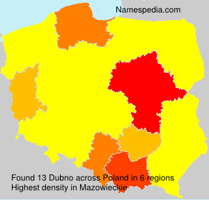 Surname Dubno in Poland