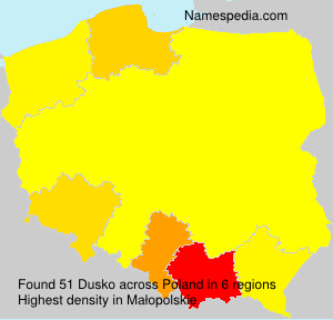 Surname Dusko in Poland
