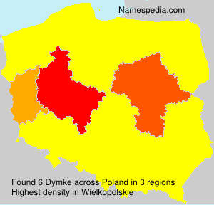 Surname Dymke in Poland